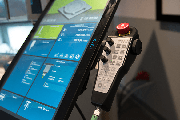 CNC operator controls are becoming easier to use but training is still a good idea in order to get the most out of the machine.