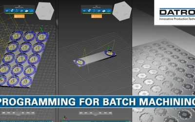 CNC Programming for Batch Machining