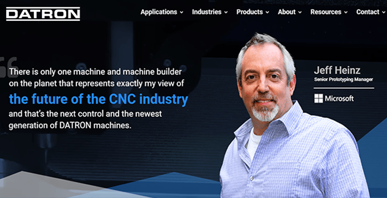 DATRON Dynamics Launches Consumer Centric Website