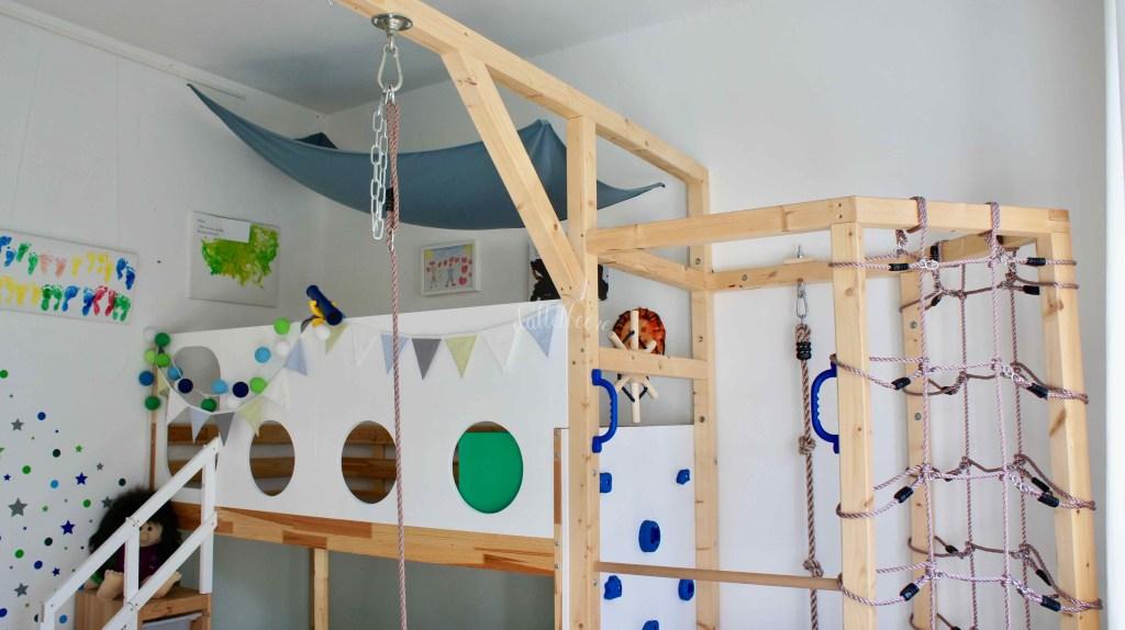 Piratenbett DIY Ikea Hack