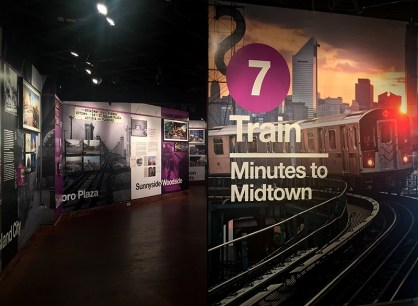 Number 7 Subway Line Exhibition - Dattner Architects