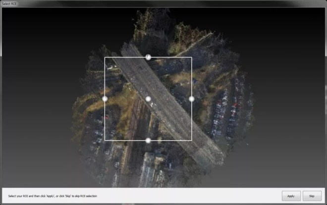 Partial Dense Point Cloud Generation