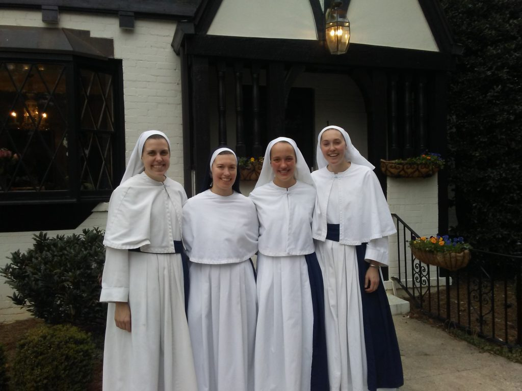 A New Novice Sister Mary Jacinta Daughters Of The Virgin Mother