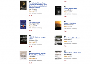 Kindle Paid Short Story -- Top 100!