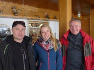 Erwin Lorenz, Evelyn Siegele und Stefan Siegele