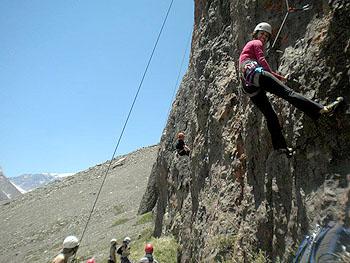 Escalada en roca con instructor DAV