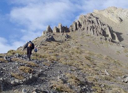 Salida de montaña DAV a Cerro Vega
