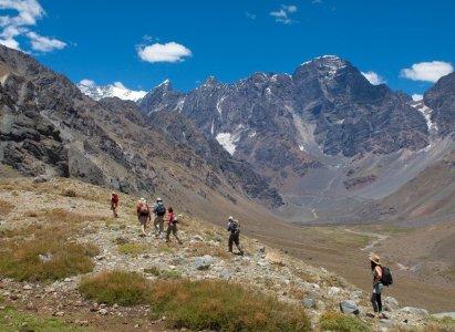 Trekking al Glaciar del Juncal – 17 de Noviembre