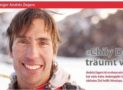 Reportaje a Andrés Zegers