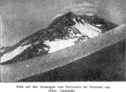 Primer Intento de Ascenso al Aconcagua en 1883 por el Dr. Güssfeldt