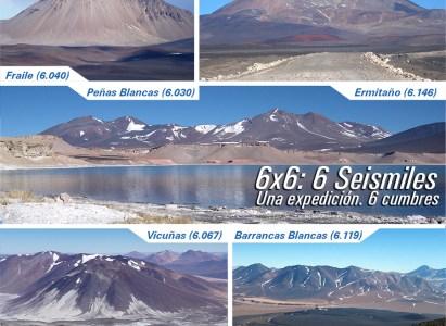 Expedición 6×6: 6 Seismiles DAV-AndesContact / 28 de marzo al 9 de abril de 2015