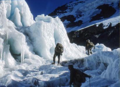 Expedición del DAV de 1956 al cerro Risopatrón (5720m) – Fotos de Eberhard Meier