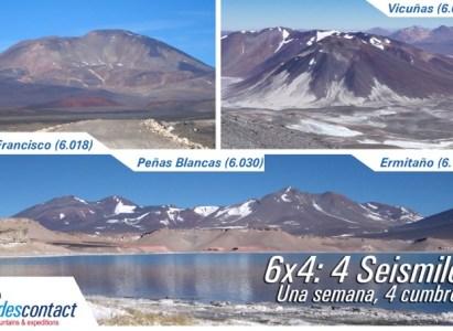 Expedición 6×4: 1 semana, 4 cumbres de 6 mil mts. – 19 a 27 de marzo de 2016