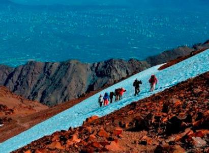 ASCENSO CERRO PUNTA DE DAMAS Cumbre Norte y Sur, Sábado 14 y Domingo 15 de Nov