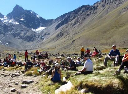 Trekking Monumento natural el Morado 30 de Enero