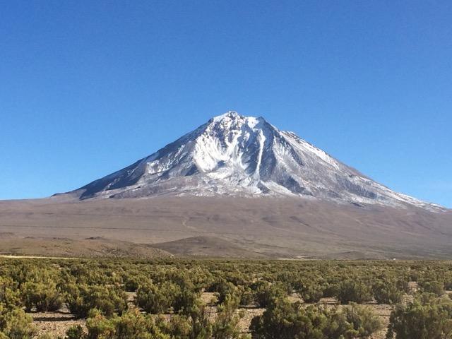 volcán Tacora