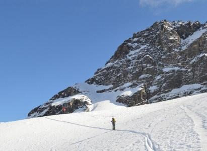 Clínica de esquí de Montaña y ascenso en el Valle de Las Arenas en esquí de randonee