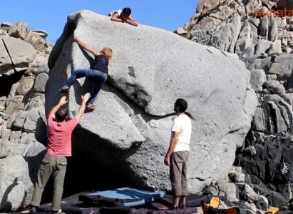 Bouldering Punta de Tralca – Domingo 5 Febrero