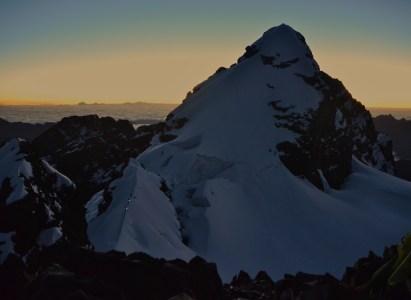 Expedición Pequeño Alpamayo y Nevado Illimani (Cordillera Real, Bolivia)