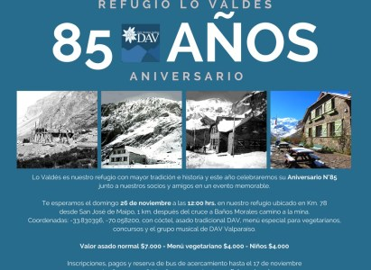 Asado de fin de año en Lo Valdés – 26 de Noviembre