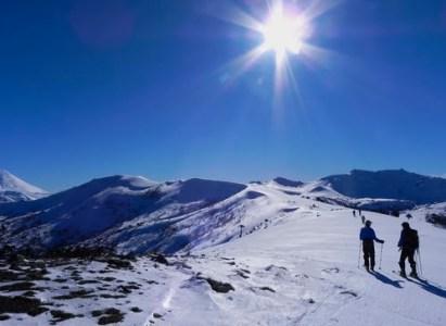 Travesía Centro de Ski Los Arenales (Lonquimay) a Corralco (Malalcahuello), Araucanía Andina -27 a 29 de Octubre