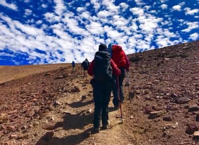 Cerro Pintor, sábado 24 de marzo 2018