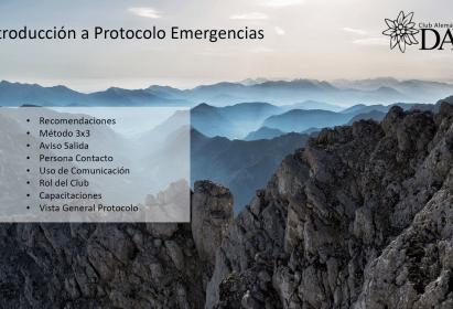 Charla Introducción a Protocolo de Emergencias – 28 de Marzo