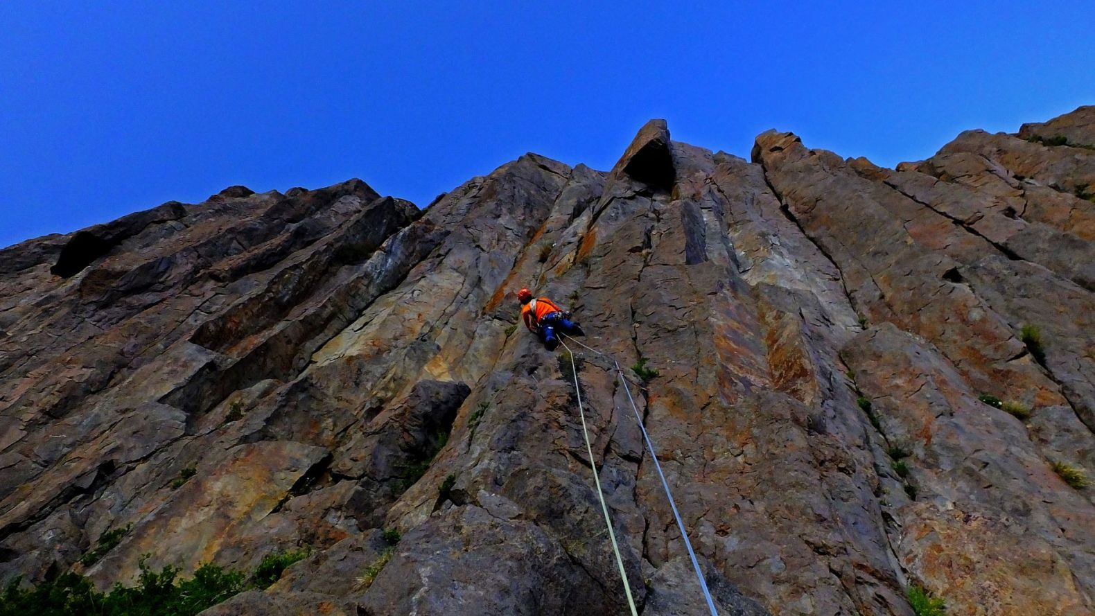 Curso Escalada en Roca Nivel Intermedio – Agosto del 2019