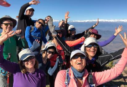 Trekking cerro Talamí – 5 y 6 de Octubre
