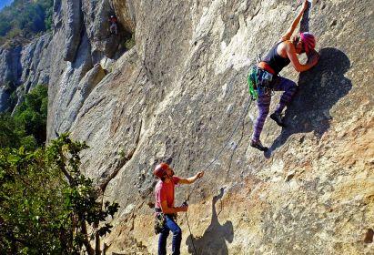 Curso Escalada en Roca Básico – Octubre 2019