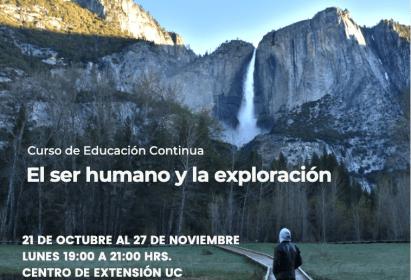 Convenio DAV-UC: Curso El Ser Humano y la Exploración
