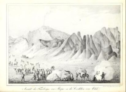 Intento de ascenso al San José por Meyen en 1831 – Traducción del artículo publicado en 1931