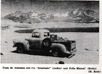 Primeros Ascensos Ermitaño (6.187 m) y Peña Blanca (6.030 m) – Traducción del artículo publicado por Heinz Koch en 1969