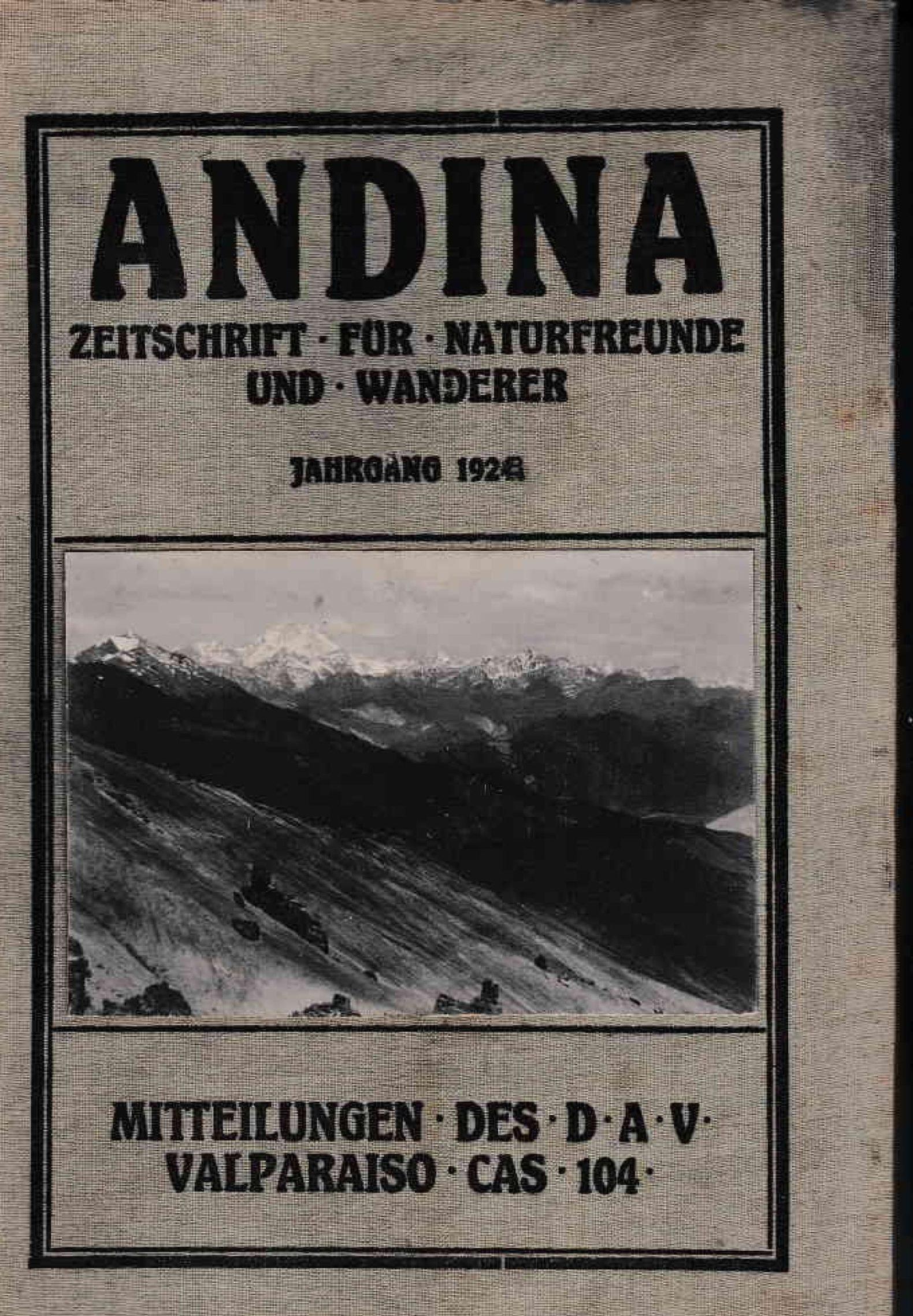 Revista Andina 1928 Heft 3