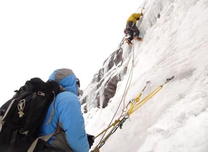 Curso de Escalada en Cascadas de Hielo 2021 Geoandino