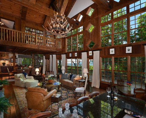 north carolina mountain interior design