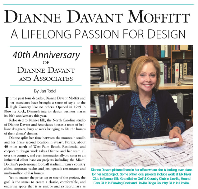 Dianne Davant high country magazine