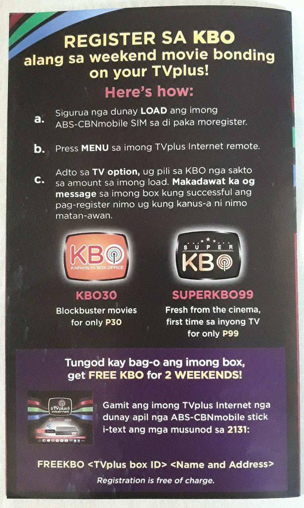 Abs Cbn Tv Plus Sim Card Load Promo   Kayacard co