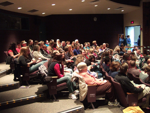 A lovely crowd at the 2012 Wisconsin Film Festival in Madison.
