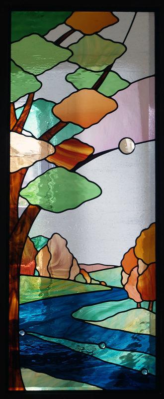 Bradford Dale stairwell panel