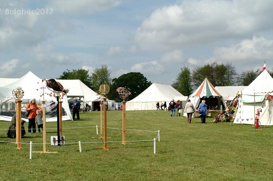 Living Crafts Show 2017 at Hatfield House