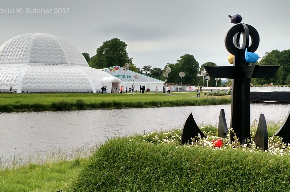 RHS Chatsworth Flower Show First Day 2017