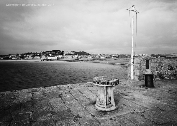 Marazion from St Michaels Mount, Cornwall, England