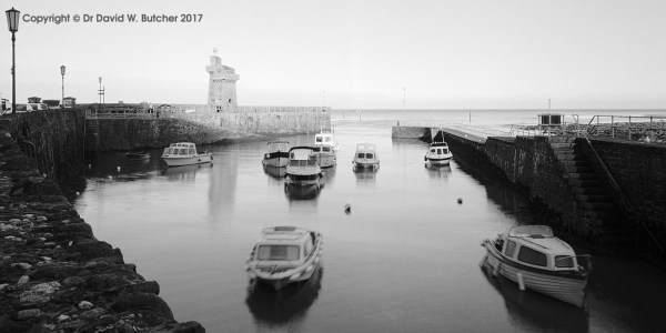 Lynmouth Harbour and Boats, Exmoor, England