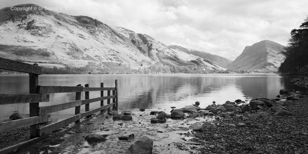 Buttermere Fence View, lake District