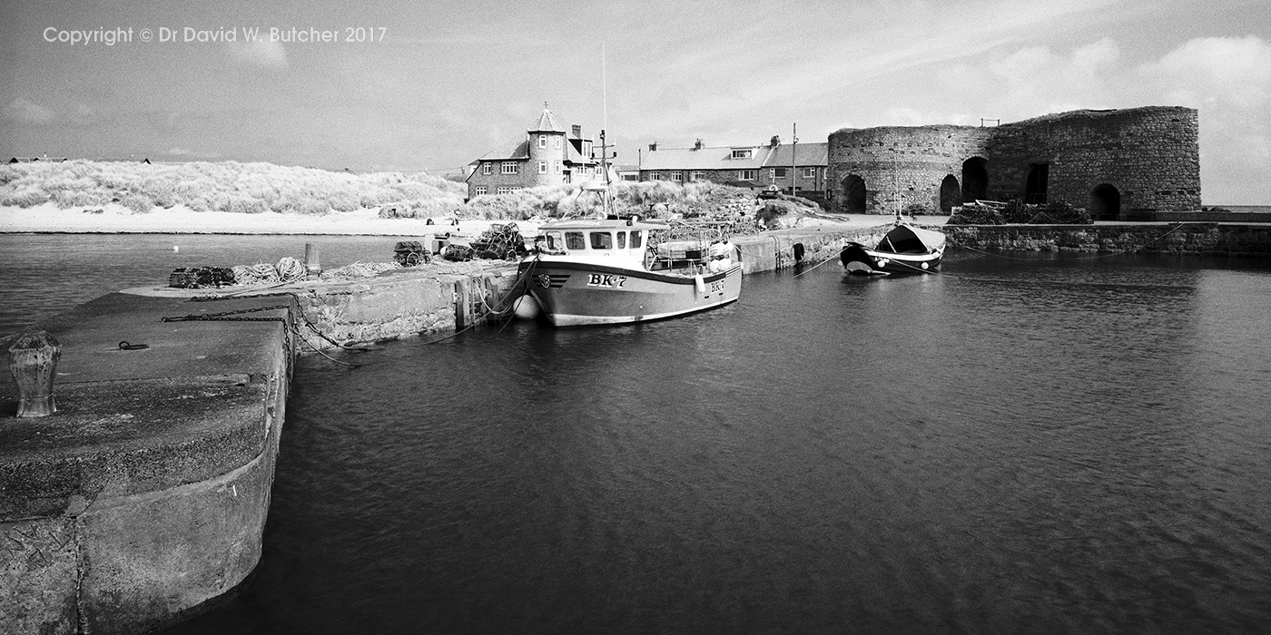 Beadnell Harbour at High Tide