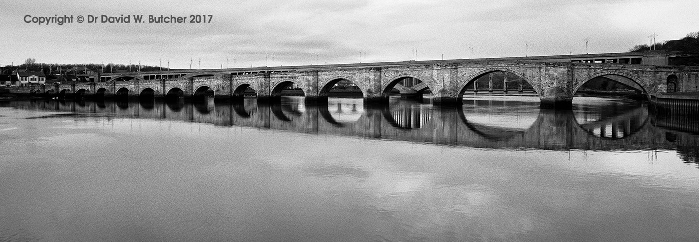 Berwick Old Bridge Reflections