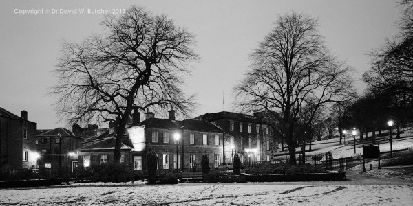 Buxton Old Hall Inn at Night, Peak District