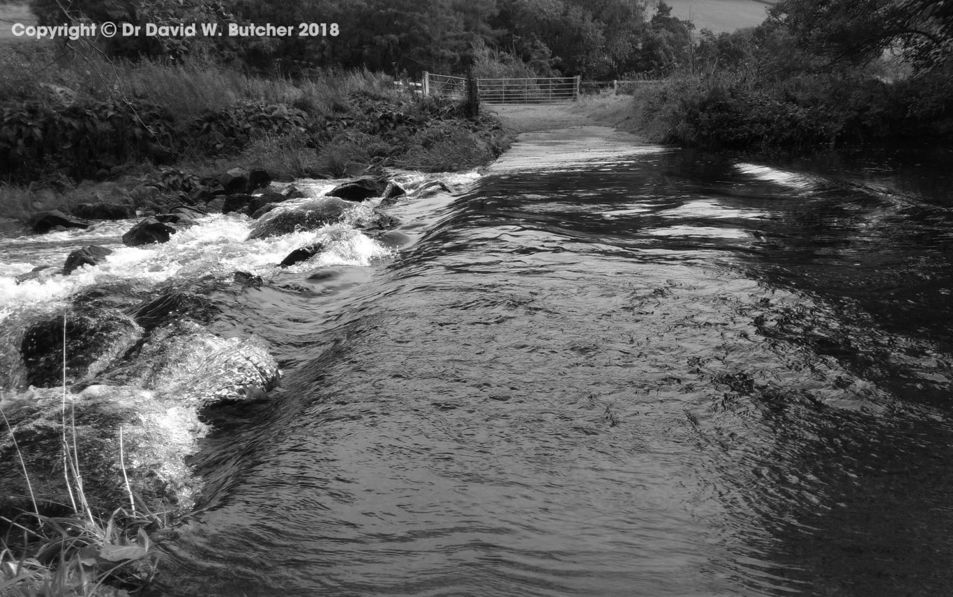 Ford near Morebattle heading to Wideopen Hill