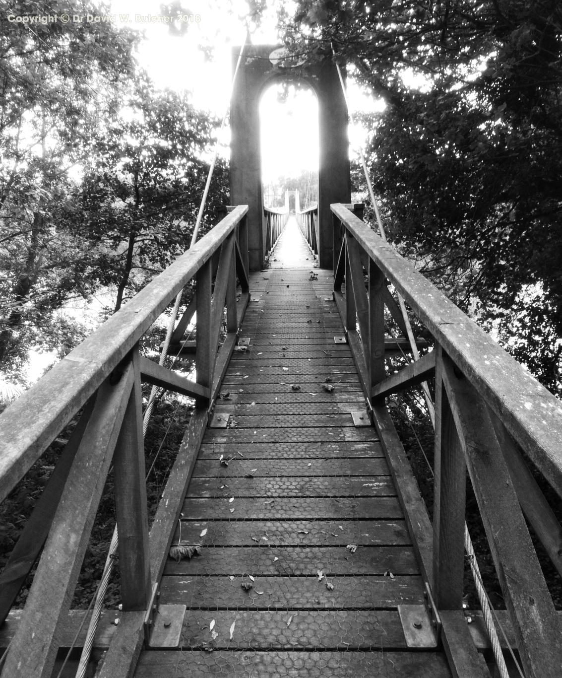 Monteviot House Footbridge near Jedburgh